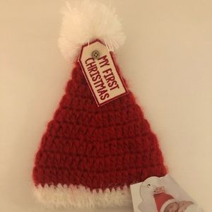 Mud Pie First Christmas Newborn Hat